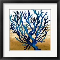 Framed Coastal Blue I