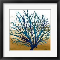 Framed Coastal Blue II