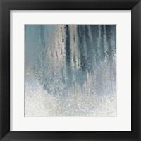 Framed Teal Summer Woods II