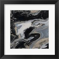 Framed Midnight Marble