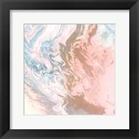 Framed Soft Pink Agate
