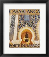 Framed Destination Morocco I