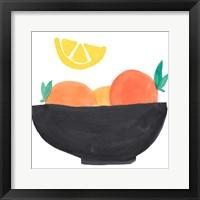Framed Fruit Bowl I