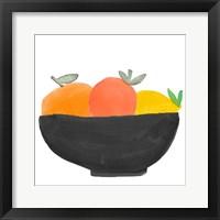 Framed Fruit Bowl II