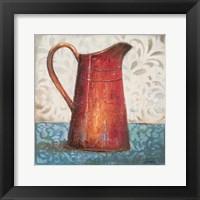 Framed Red Pots II
