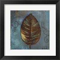 Framed Moroccan Leaves