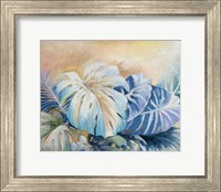 Framed Blue Plants II