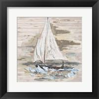 Framed Rough Sailing I
