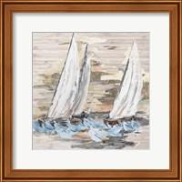 Framed Rough Sailing II
