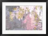 Framed Pink Magic Abstract
