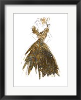 Framed Fashion in Gold I