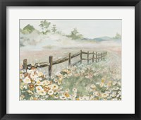 Framed Fence with Flowers