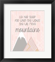 Framed She'll Move Mountains
