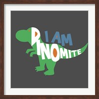 Framed Dinomite
