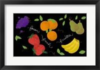 Framed Fresh Fruit