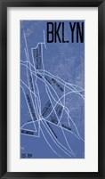 Framed BKLYN Grid Panel