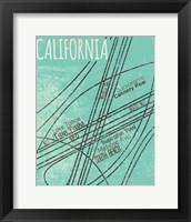 Framed California Roads