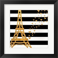 Framed Eiffel Tower Love
