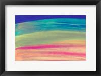 Framed Rainbow Abstract
