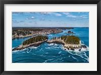 Framed Aerial Islands