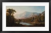 Framed Vale of Kashmir, 1867