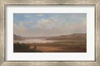 Framed View of Lake Pepin, Minnesota, 1862