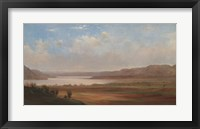 Framed View of Lake Pepin, Minnesota, 1862