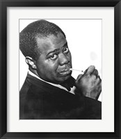 Framed Louis 'Satchmo' Armstrong (c1898-1971)