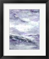 Framed Purple Wind 2