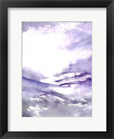 Framed Purple Wind 3