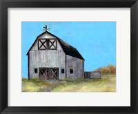 Framed Relaxing Barn