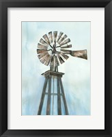 Framed Lonely Windmill