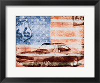 Framed USA Drive