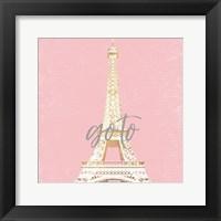 Framed Paris Go To