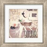 Framed Paris Bicycle 3