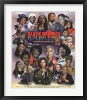 Framed Black Women on the Move for Equality