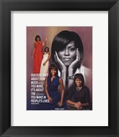 Framed Michelle Obama