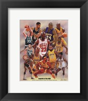 Framed Legends of the NBA