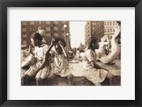 Framed Hot Summer in the City, 1940