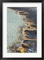 Framed Run-off Detail, Yellowstone National Park