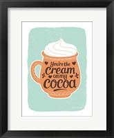 Framed Cream on My Cocoa