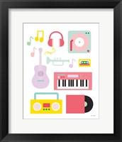 Framed Lets Listen to Music I