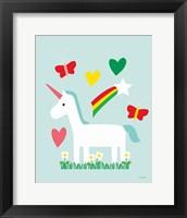 Framed Unicorn Fun II