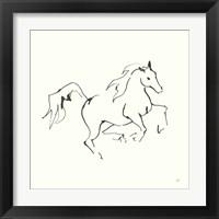 Framed Line Horse V