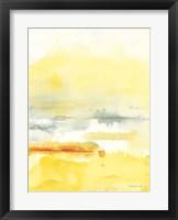 Framed Saffron II
