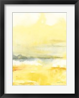 Framed Saffron I