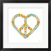 Framed Peace and Love II