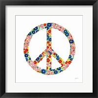Framed Peace and Love I