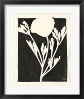 Framed Joyful Spring II Black