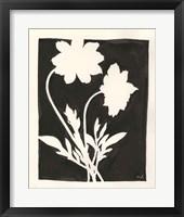 Framed Joyful Spring I Black